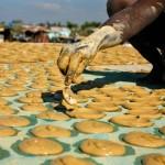 galletas de barro